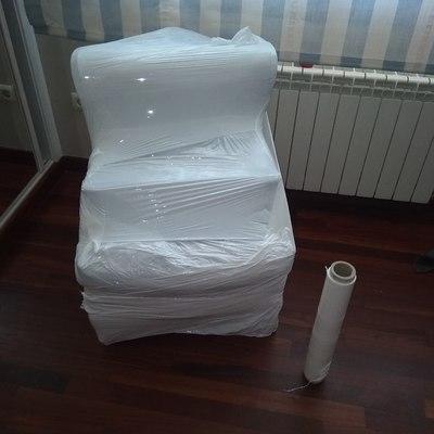 sillón embalado para transporte