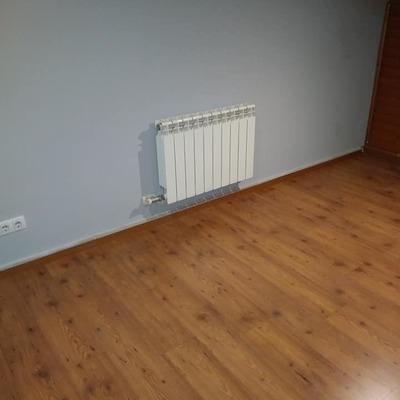 Instalación de elementos de calefacción.
