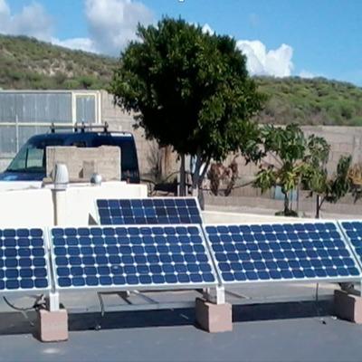 Módulos fotovoltaicos en instalación aislada