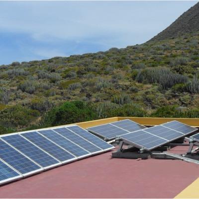 Instalación fotovoltaica aislada - Teno - Tenerife.