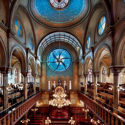 Vidriera para una Sinagoga