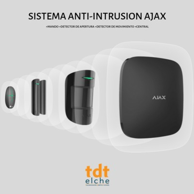 SISTEMA ANTI-INTRUSION AJAX