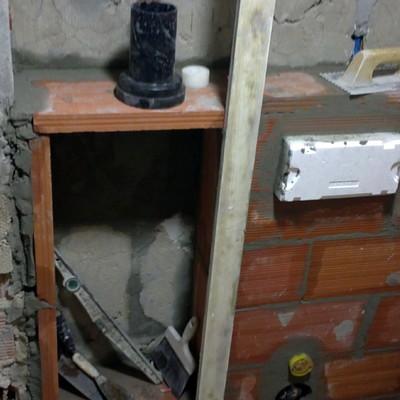 sistema encastrado de cisterna