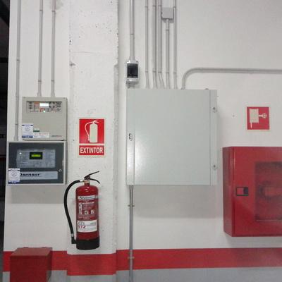 Sistemas de deteccion y contraincendios (BIES)