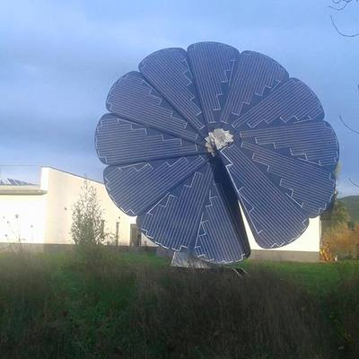 Instalación solar aislada