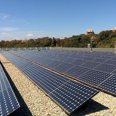 fotovoltaica cubierta plana