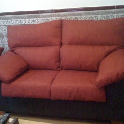 Sofa 3+2 plazas retapizado .