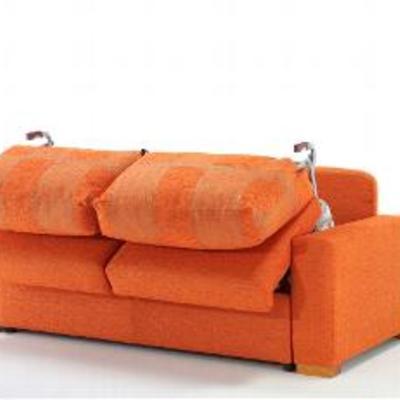 Sofa cama semi-abierto