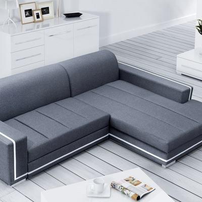 Sofá cama con chaise longue grande – Caicos