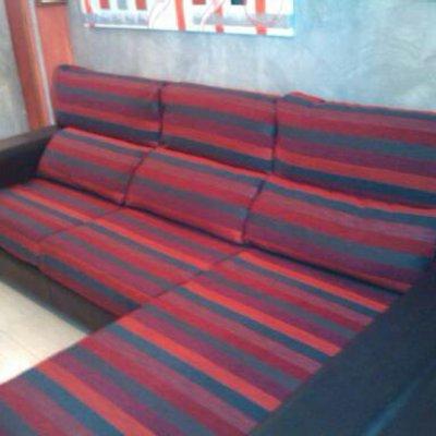 sofa chesslong retapizado