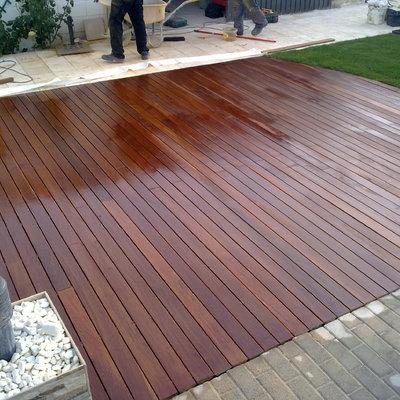 Solada de madera exterior