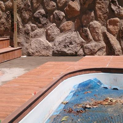 Solado de playa de piscina