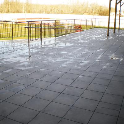 Solados, pavimentos, impermeabilización