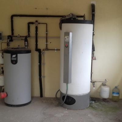 Instalación agua caliente solar