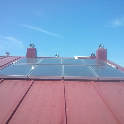 Solar térmica en comunidad de propietarios.