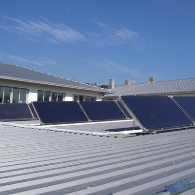 Solar térmica para agua caliente en instituto