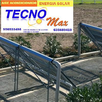 Solar tubos de vacio.