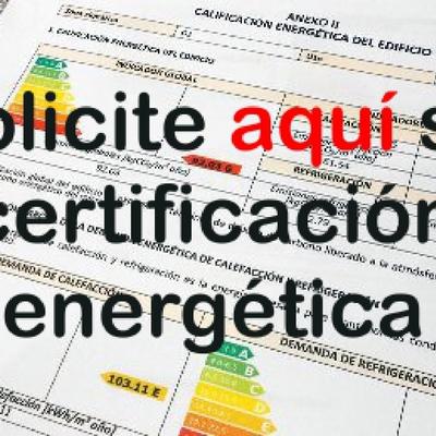 Solicite con nosotros su certificación energética