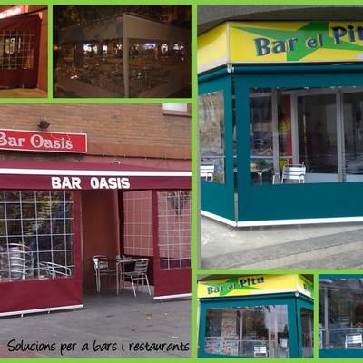 Soluciones para bares y terrazas