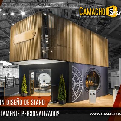 ¿Quieres un diseño de stand completamente personalizado?, pulsa en esta publicación.