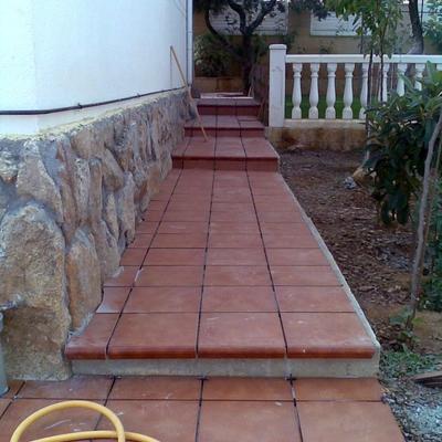 Suelos de patios exteriores elegant beautiful baldosas - Suelos para patios ...