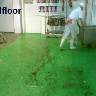 suelo de resina epoxi alimentario en matadero