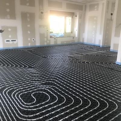 Instalación suelo radiante frio/calor