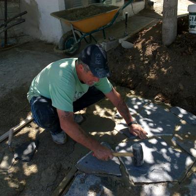 Presupuesto suelos piedra en asturias online habitissimo - Suelo piedra natural ...