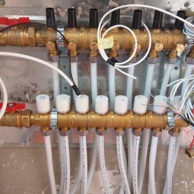 Instalación de sistema de calefacción