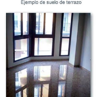 suelo terrazo