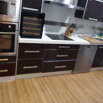 suelo vinilico en cocina