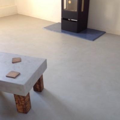 Pavimento y mobiliario