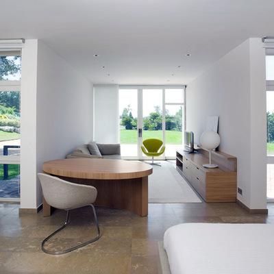 Suite dormitorio sala de estar casa Coderch