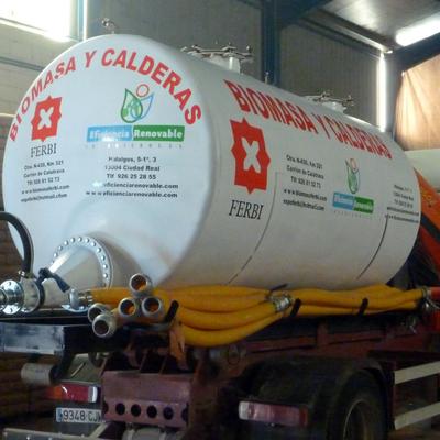 Suministro de biomasa