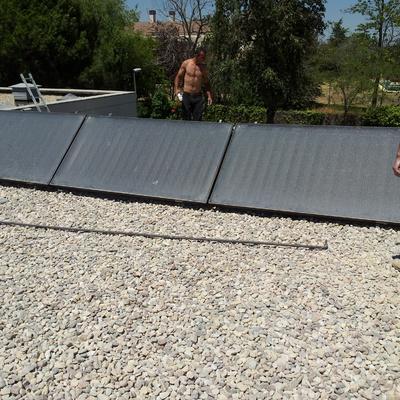 suministro y colocacion placas solares ACS
