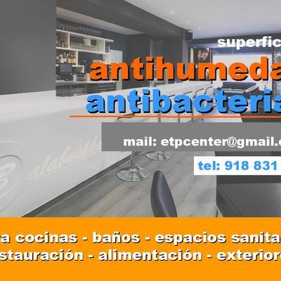 Antibacterias y Antihumedad