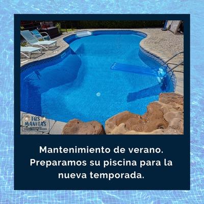 Servicio completo de piscinas.