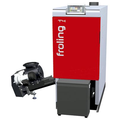 Caldera Fröling policombustible astilla-pellet hasta 250 kW