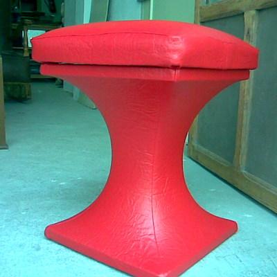 taburete pedestal de skay