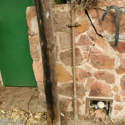 Sustitución de acometida de gas, en este caso para una vivienda.