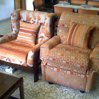 Precio tapizar sillas o butacas habitissimo for Sillones pequenos baratos