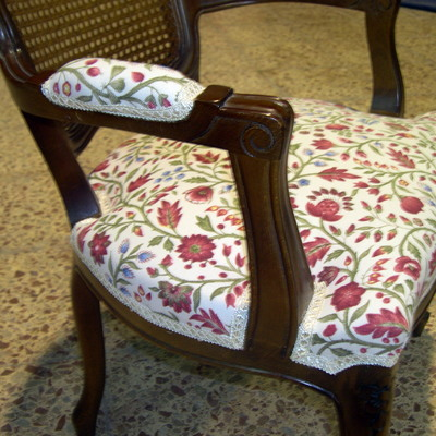 Tapizado de silla + brazo