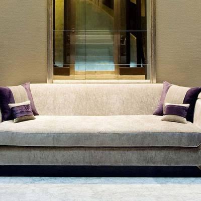 Tapizado de Sofa en Lobby Hotel