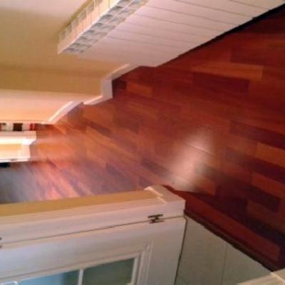 Tarima flotante de madera