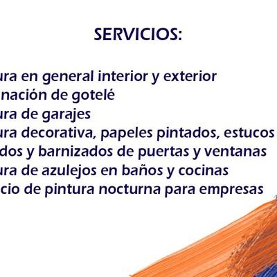 Servicios pintores Vitoria