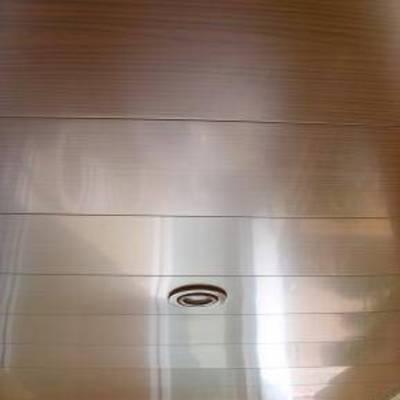 techo de aluminio valenzza 200mm imitación madera