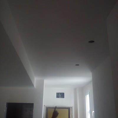 techo pasillo