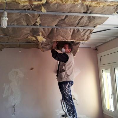 techo pladur Begur