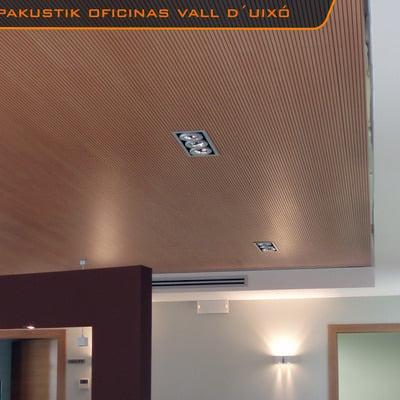 Techos acustico de madera TOPAKUSTIK