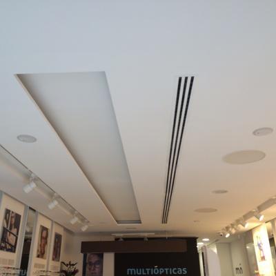 techos pladur con foseados